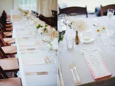 reception - photo by Nick Radford http://ruffledblog.com/watercolor-garden-wedding-in-new-york