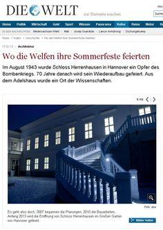 Schloss Herrenhausen in Hannover   Eingangstreppe geliefert von TRAX-MATTHIES