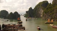 Another view of Halong Bay, Vietnam (it's that good, really).  Get your Graham Greene on. Courtesy of beachtomato.com