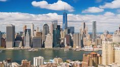 "Dimid ""New York City"" San Francisco Skyline, New York City, New York Skyline, Landscape, Videos, Cities, Travel, Viajes, New York"