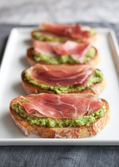 Recipe: Asparagus & Prosciutto Crostini — Appetizer Recipes from The Kitchn