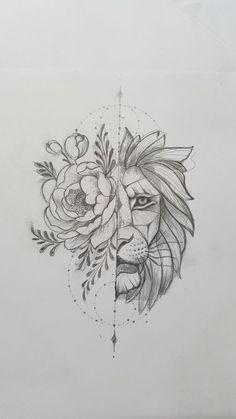 lion sketch tattoos \ lion sketch tattoos + lion tattoo sketch + lion tattoos men sketch + sketch style tattoos lion + lion head tattoos sketch + lion tattoos chest sketch + lion tattoos for men sketch Lion Sketch, Sketch Art, Rose Sketch, Sketch Ideas, Tattoo Drawings, Art Drawings, Sketch Tattoo, Flower Drawings, Flower Paintings