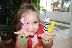 No-Sew Finger Puppets - http://www.pbs.org/parents/crafts-for-kids/no-sew-finger-puppets/