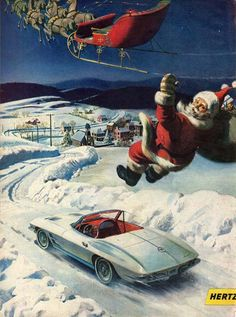 [GALLERY] Santa, Christmas and Corvettes! (42 Corvette Photos) - Corvette: Sales, News & Lifestyle
