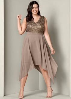 9bcad7c0cd PLUS SIZE SEQUIN DETAIL PARTY DRESS  59  fashion  ootd  outfit  oufits
