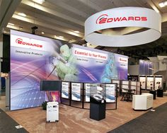 Tradeshow Booth Design for Edwards