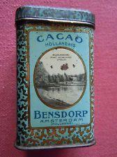 Bensdorp tin