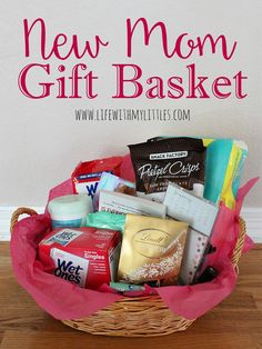 Create a DIY New Mom Gift Basket for After Labor | DIY ...