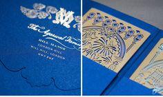 CeciStyle V117 Venetian Fantasy Be Inspired By Vinita Muqits Vibrant Laser Cut Wedding InvitationsWedding