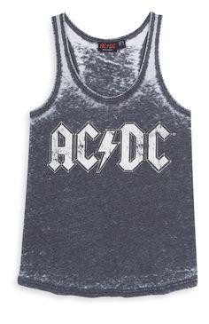 Grey ACDC Vest