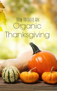 How to plan for thanksgiving dinner. #Organic