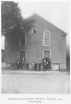 "On Feb. 14, 1867, The Augusta Institute, was founded by William Jefferson White, a Baptist minister and Rev. Richard C. Coulter, a former slave, from Atlanta, Georgia. The Institution was founded to educate African-American men in theology and education and was located in the basement of Springfield Baptist Church, the ""Oldest Independent Black Church in the United States.""  It was renamed ""Morehouse College"" after it moved to Atlanta, in 1879."