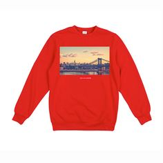 New York - Red Jumper