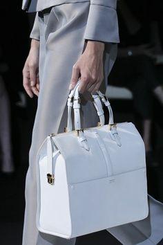 Giorgio Armani White Tote Farfetch.com £1255.08