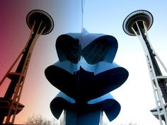 The Space Needle and #EMPMuseum by Josie Liming Photography