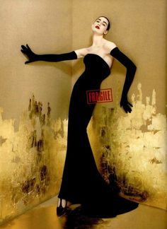 Fragile by Jean Paul Gaultier, circa 1999 | Model: Erin O'Connor