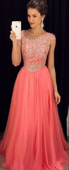 #coral #chiffon #prom #party #evening #dress #dresses #gowns #cocktaildress #EveningDresses #promdresses #sweetheartdress #partydresses #QuinceaneraDresses #celebritydresses #2017PartyDresses #2017WeddingGowns #2017HomecomingDresses #LongPromGowns #blackPromDress #AppliquesPromDresses #CustomPromDresses #backless #sexy #mermaid #LongDresses #Fashion #Elegant #Luxury #Homecoming #CapSleeve #Handmade #beading