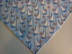 Dog Bandana/Scarf Cotton Nautical Slide/Tie On Custom Made by Linda XS S M L #CustomMadebyLinda