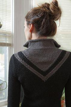 Шеврон Пальто Pattern - вязания крючком и Шаблоны от KnitPicks.com по Керин Dimeler- Laurence