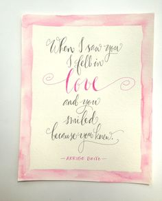 Calligraphy Quotes by kristenhendo on Etsy
