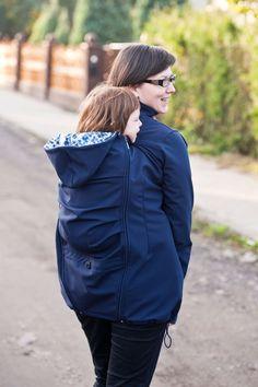 Twiga abywearing coat navy blue