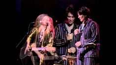 Melissa Ethridge & KD Lang - You Can Sleep - Awesome!  I wonder if there is a story behind the PJs