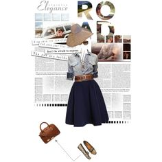 """""""Road Trip"""" by claudiakohl on Polyvore"""