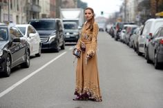 Veronica Ferraro spotted in Milan wearing Etro and Fendi, are on www.thestreetmuse.it