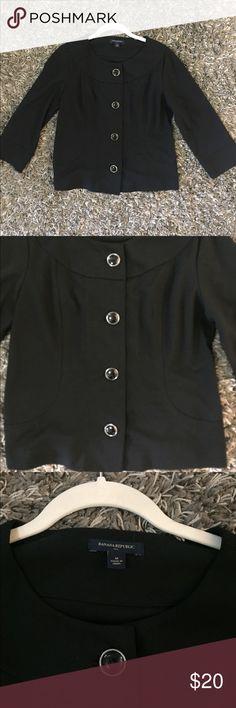 Banana Republic Women Blazers!! Excellent shape! 72% Polyester 23% Rayon 5% Spandex Elasthanne Banana Republic Jackets & Coats Blazers