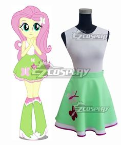 offer finest quality My Little Pony Equestria Girls Fluttershy Cosplay Costume and other related co My Little Pony Shoes, My Little Pony Costume, My Little Pony Rarity, Cartoon Costumes, Girl Costumes, Halloween Costumes, Cosplay Outfits, Cosplay Costumes, Buy Cosplay