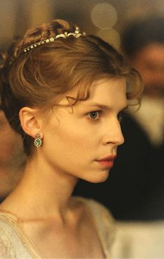 Clémence Poésy as Natasha Rostova in War and Peace