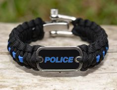 We are excited about the new additions to the POLICE Survival Straps. We now offer the POLICE Straps with a dog tag and a thin blue line. They are available under the POLICE/Firefighter/EMS section. Show your support for our service men and women today. Thank you for your support! $41.90 www.survivalstraps.com