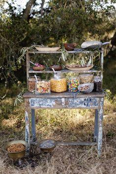 Wedding favors? Snack bar?