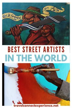 Here's an introduction to the most famous mural artists in the world | street artists | mural art | best street murals | mural artists | female street artists