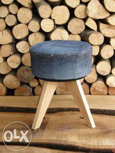 pufa stołek taboret siedzisko design loft Rzeszów - image 1