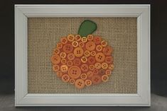 Can't go wrong with buttons and pumpkins and then the color orange! Fantabulous!