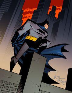 Batman - Bruce Timm, Colors: Tom Martin