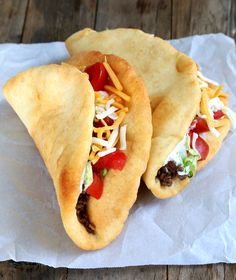 Free Chalupas—a Taco Bell Copycat Recipe Gluten Free Chalupas—a Taco Bell copycat recipe!Gluten Free Chalupas—a Taco Bell copycat recipe! Gf Recipes, Dairy Free Recipes, Copycat Recipes, Mexican Food Recipes, Cooking Recipes, Healthy Recipes, Cooking Ham, Cooking Salmon, Cooking Turkey