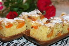Prajitura cu caise Cheesecake, Deserts, Sweet, Food, Candy, Cheesecakes, Essen, Postres, Meals