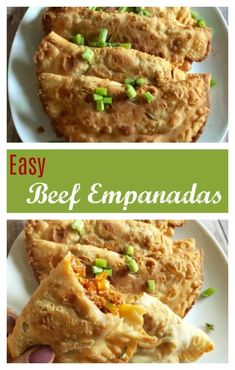 Easy Beef Empanadas that are great for a quick dinner #easymeals #beefdinner #easydinner