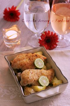 Petto di pollo gratinato al forno+