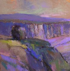 Casey Klahn: Light Canyon (I would love to have this hanging in my purple bedroom)