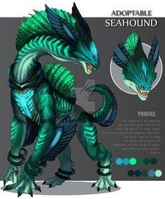 Mythical Creatures Art, Alien Creatures, Mythological Creatures, Magical Creatures, Monster Concept Art, Monster Art, Creature Concept Art, Creature Design, Design Dragon
