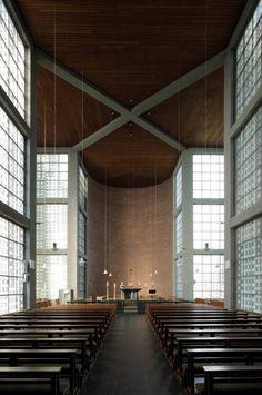 Kirche St. Andreas Essen in Essen, Innenarchitektur, Architektur - baukunst-nrw