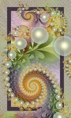 Fawnda by afugatt. on deviantART . such a beautiful fractal I'm getting inspired to start creating some healing fractals! Fractal Images, Fractal Art, Walpapers Iphone, Fractal Design, Wow Art, Sacred Geometry, Belle Photo, Swirls, Art Images