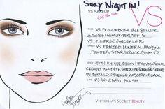 Victoria's Secret makeup.