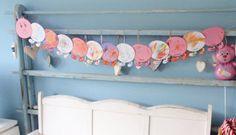 alles-vanellis: Geboorte slinger 2nd Baby, Work Inspiration, Diy For Kids, Baby Gifts, Floral Wreath, Baby Shower, Diy Crafts, Projects, Babys