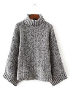 GET $50 NOW | Join RoseGal: Get YOUR $50 NOW!http://www.rosegal.com/sweaters/turtle-neck-pullover-knit-sweater-777795.html?seid=6145535rg777795