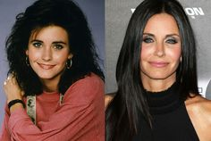 Now: Courteney Cox at the Scream 4 Premiere at Grauman's Chinese Theatre, 2011