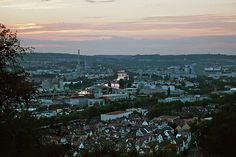 Stuttgart, Germany is a huge city worth exploring.  Especially during Octoberfest.